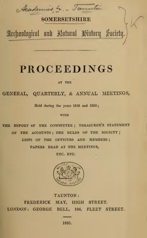 Proceedings volume 1 cover