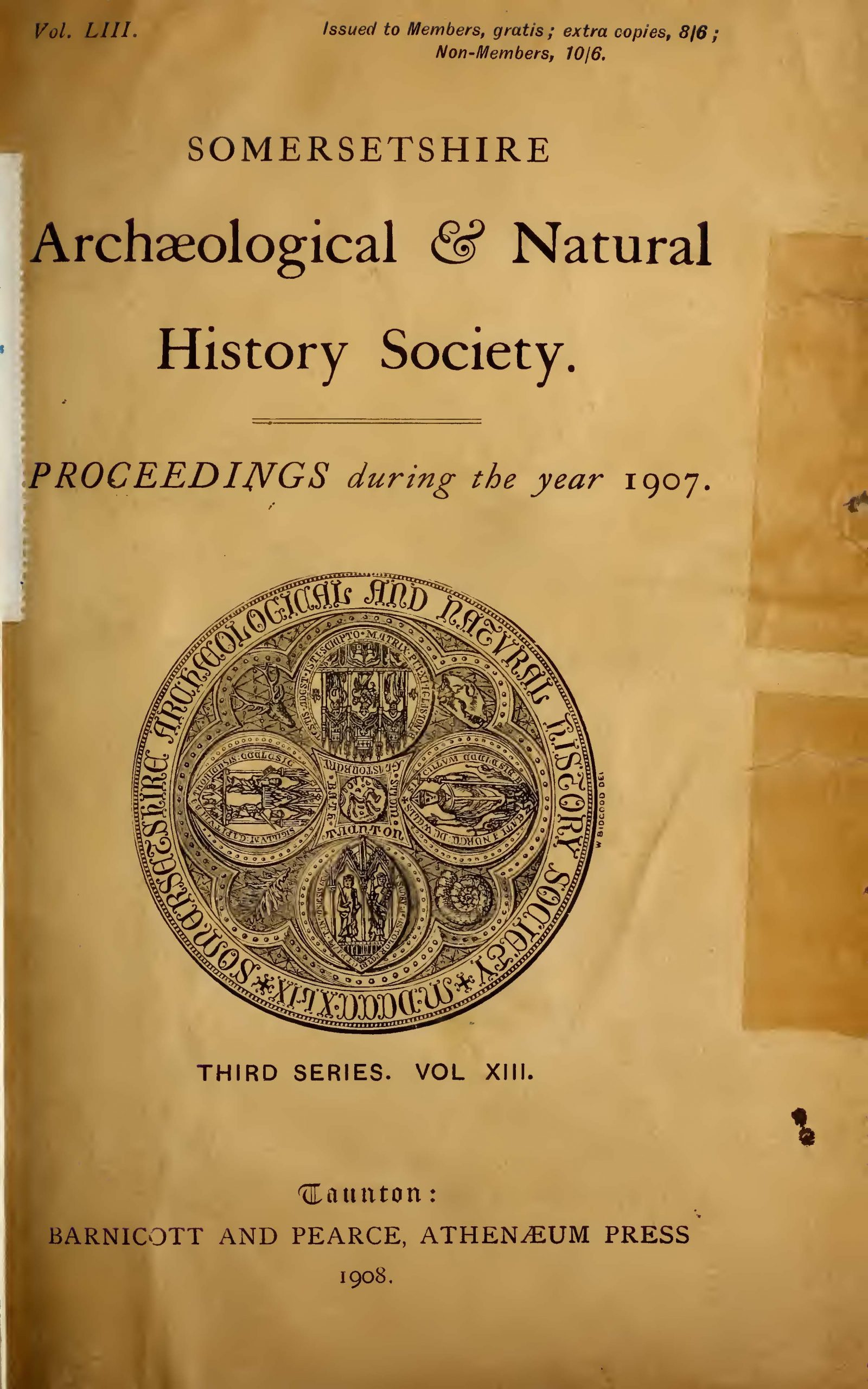 SANHS Proceedings Volume 53 cover