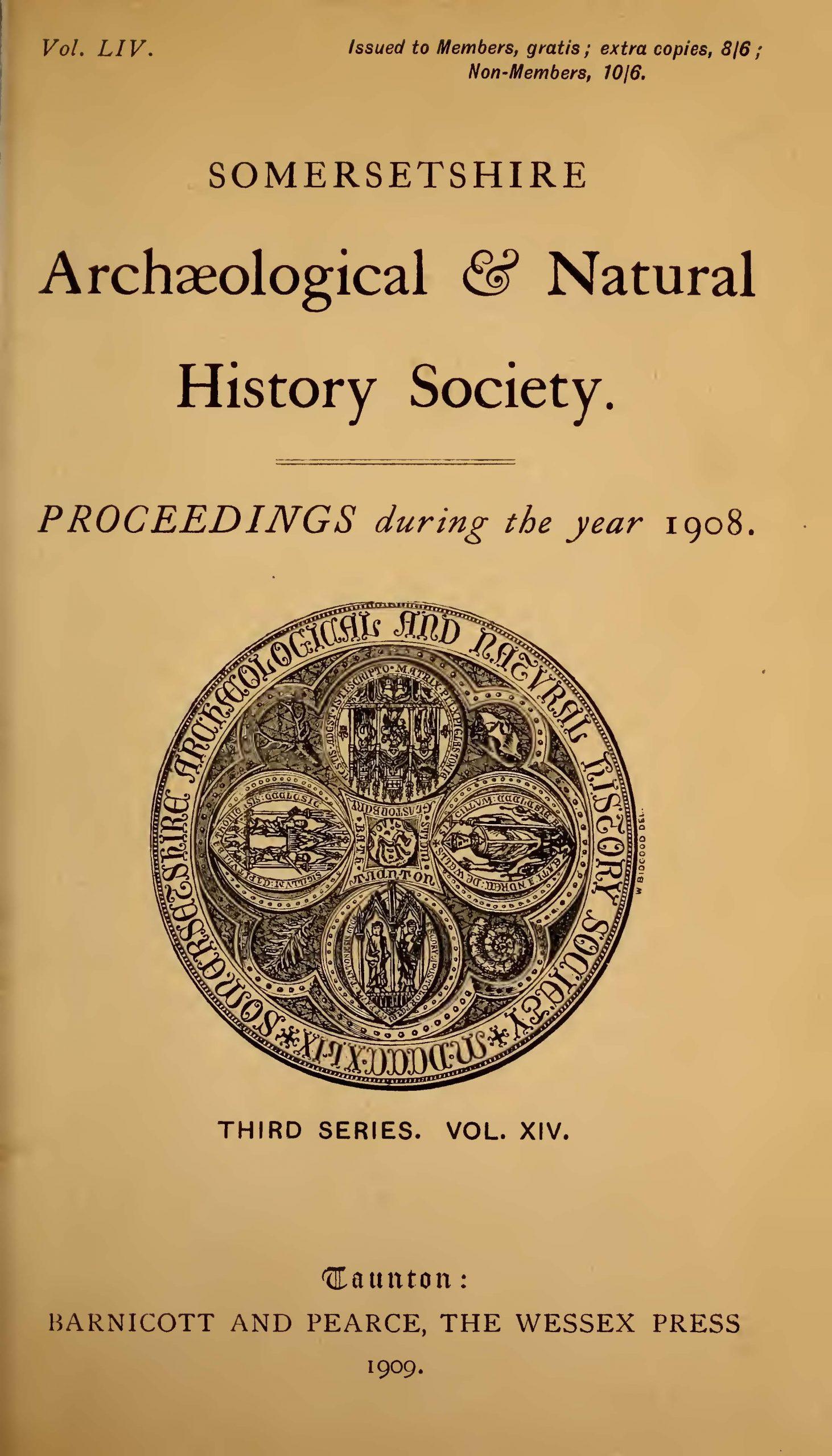 SANHS Proceedings Volume 54 cover