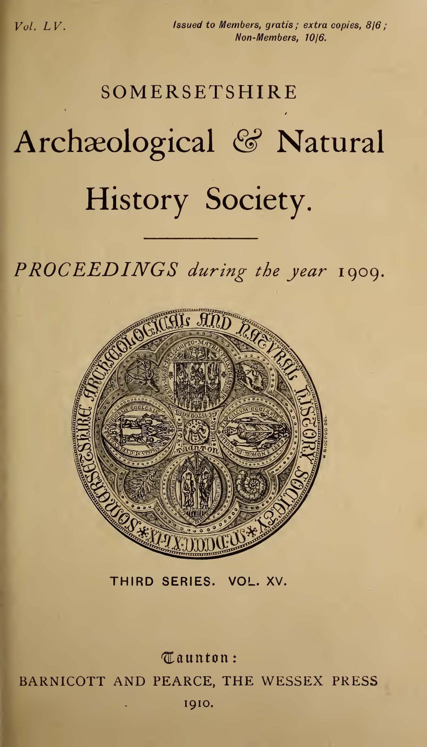 SANHS Proceedings Volume 55 cover