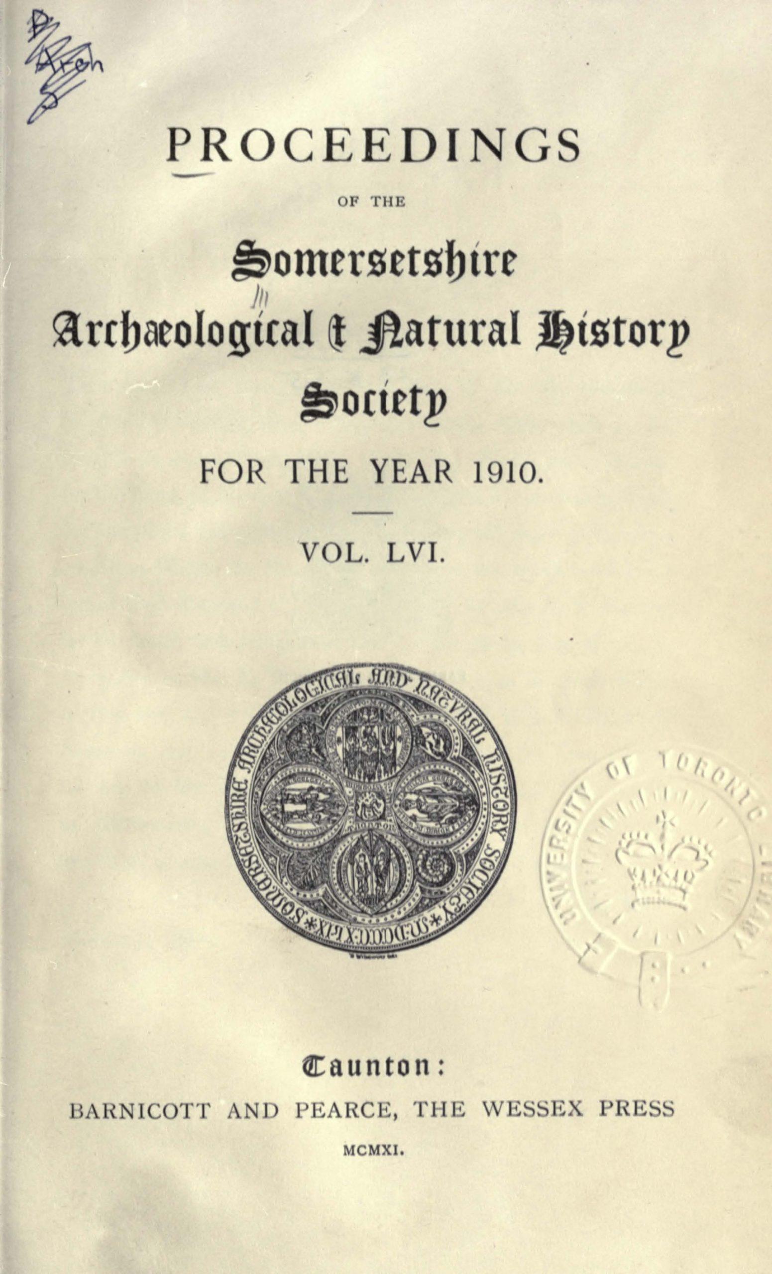 SANHS Proceedings Volume 56 cover
