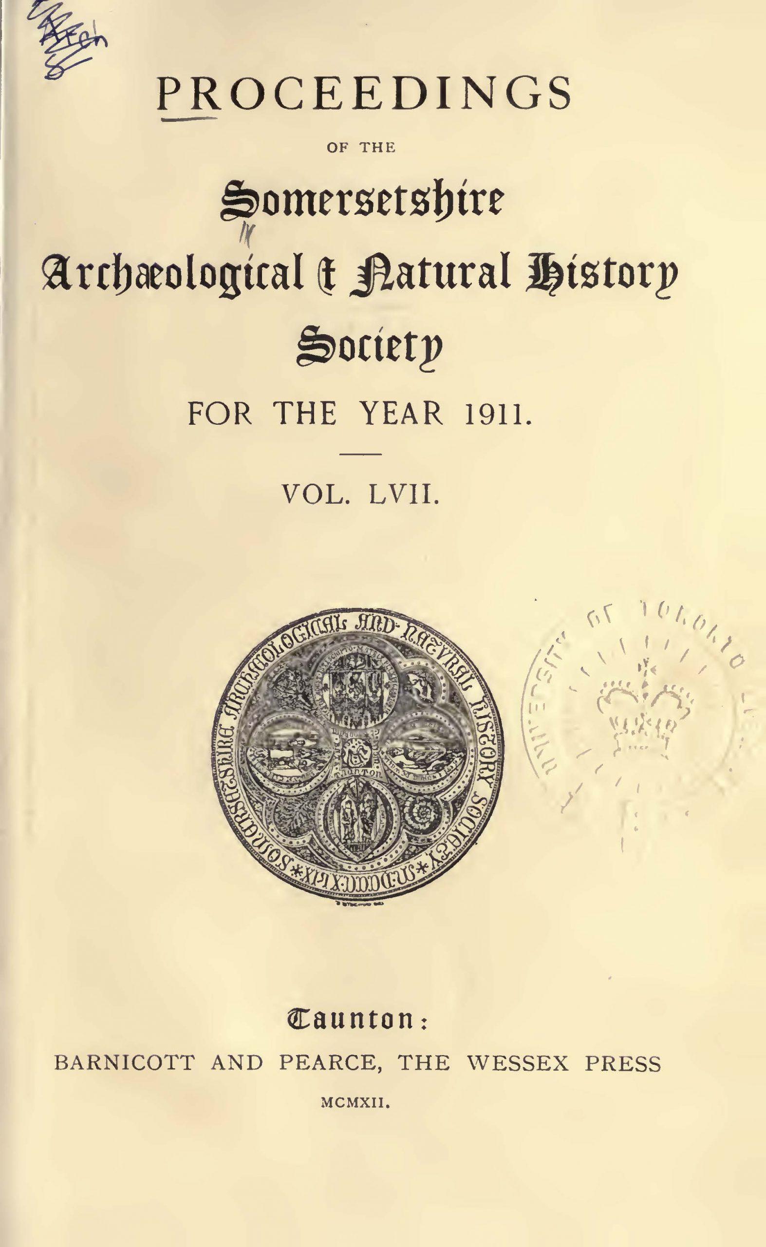 SANHS Proceedings Volume 57 cover
