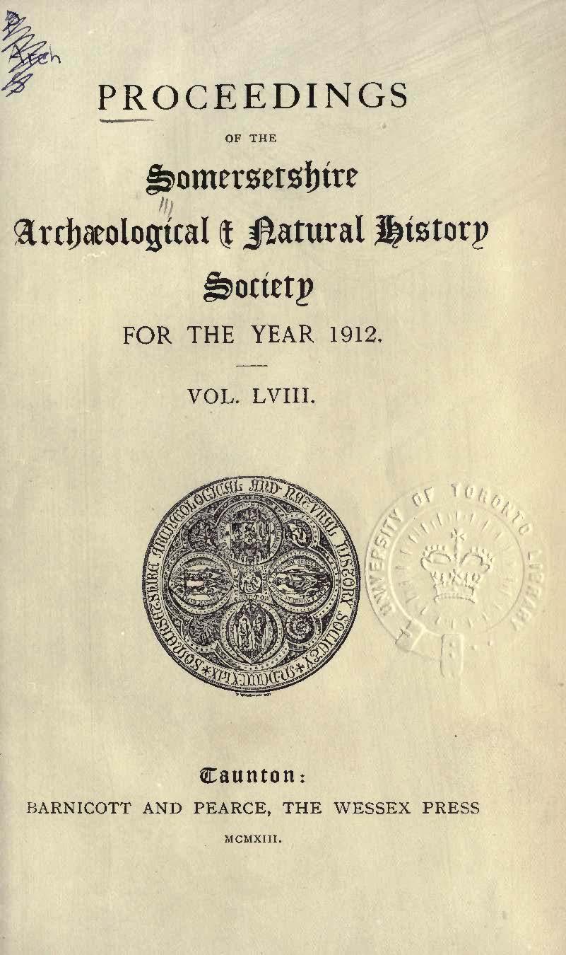 SANHS Proceedings Volume 58 cover