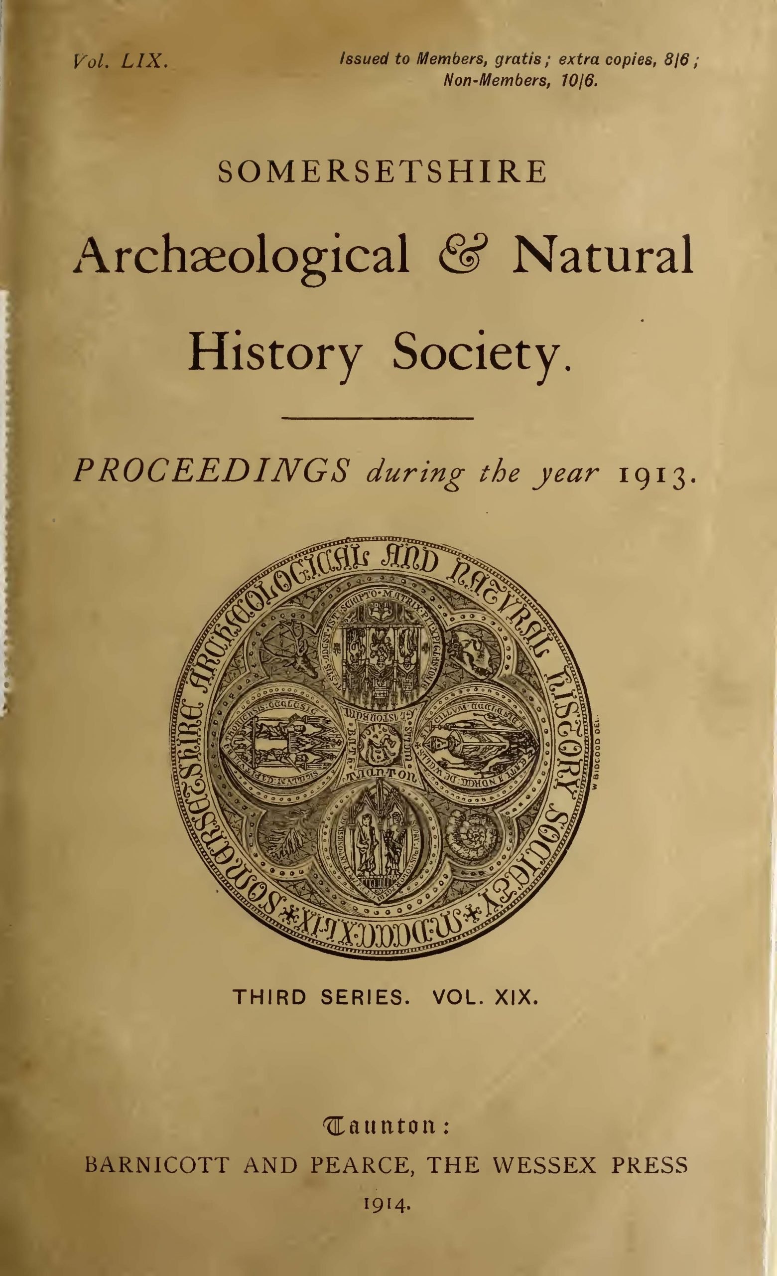 SANHS Proceedings Volume 59 cover