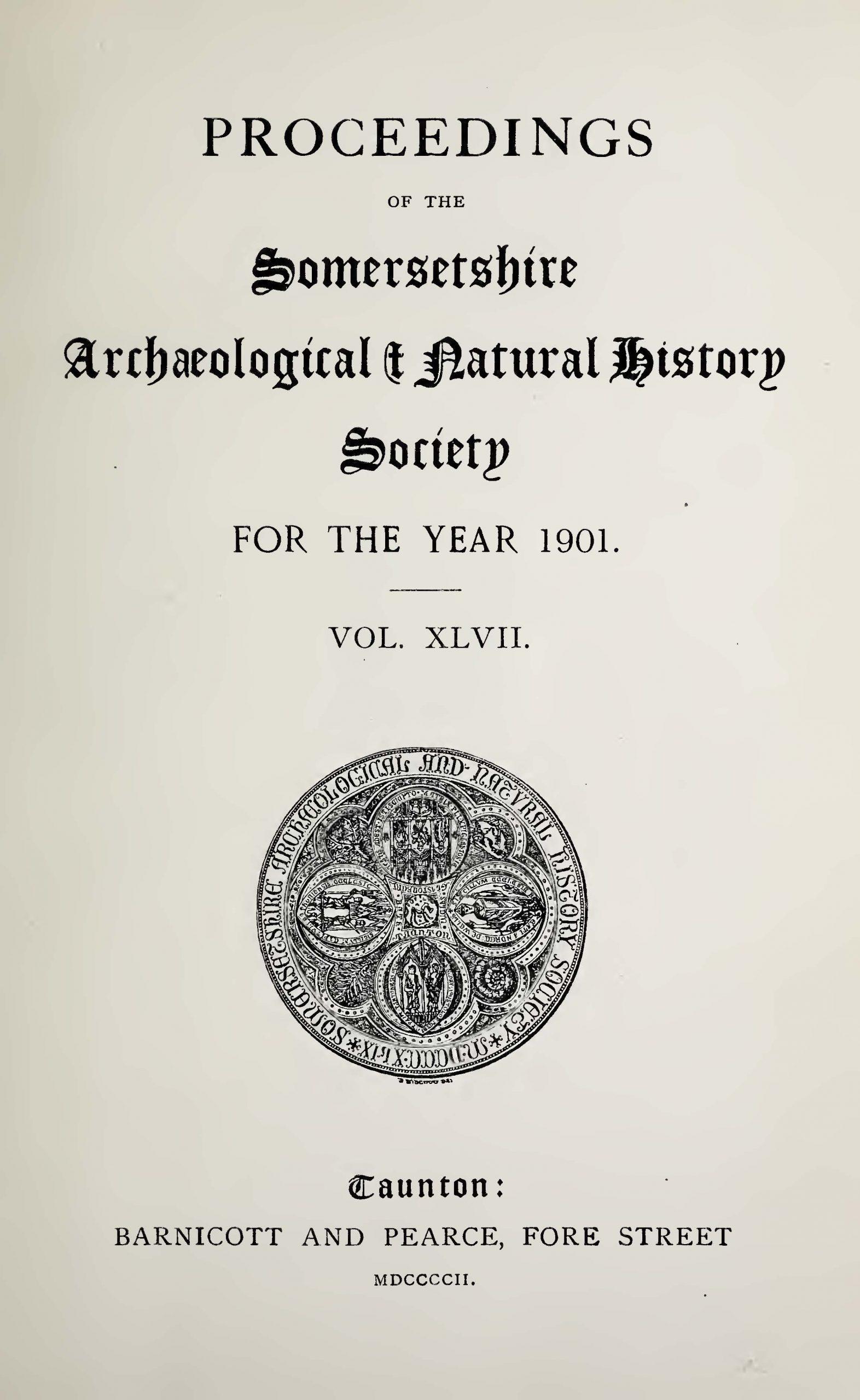 SANHS Proceedings Volume 47 cover
