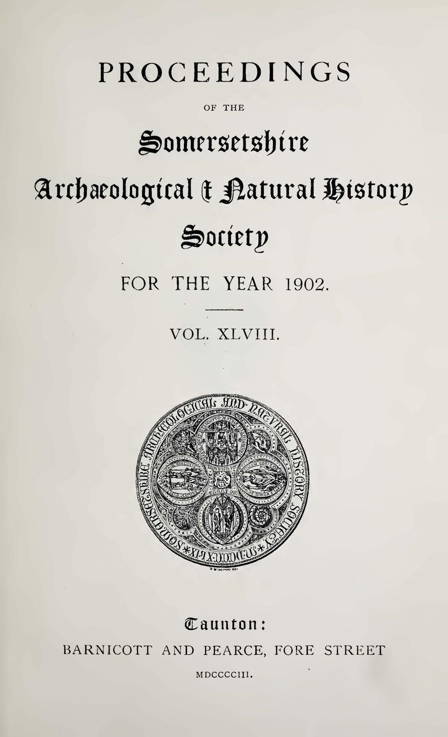 SANHS Proceedings Volume 48 cover