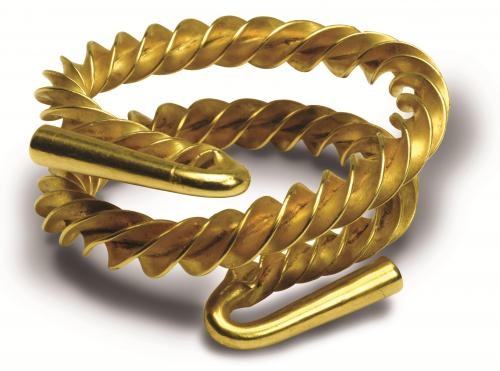 Gold torque